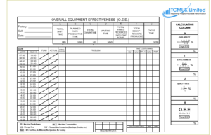 Overall Equipment Effectiveness Template