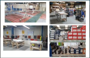 New Factory Layout and Visual Management