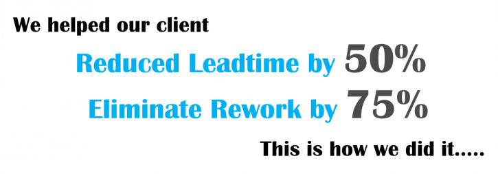 Leadtime Reduction & Rework Elimination