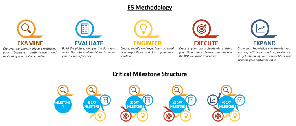 E5 Methodology & Milestone Structure