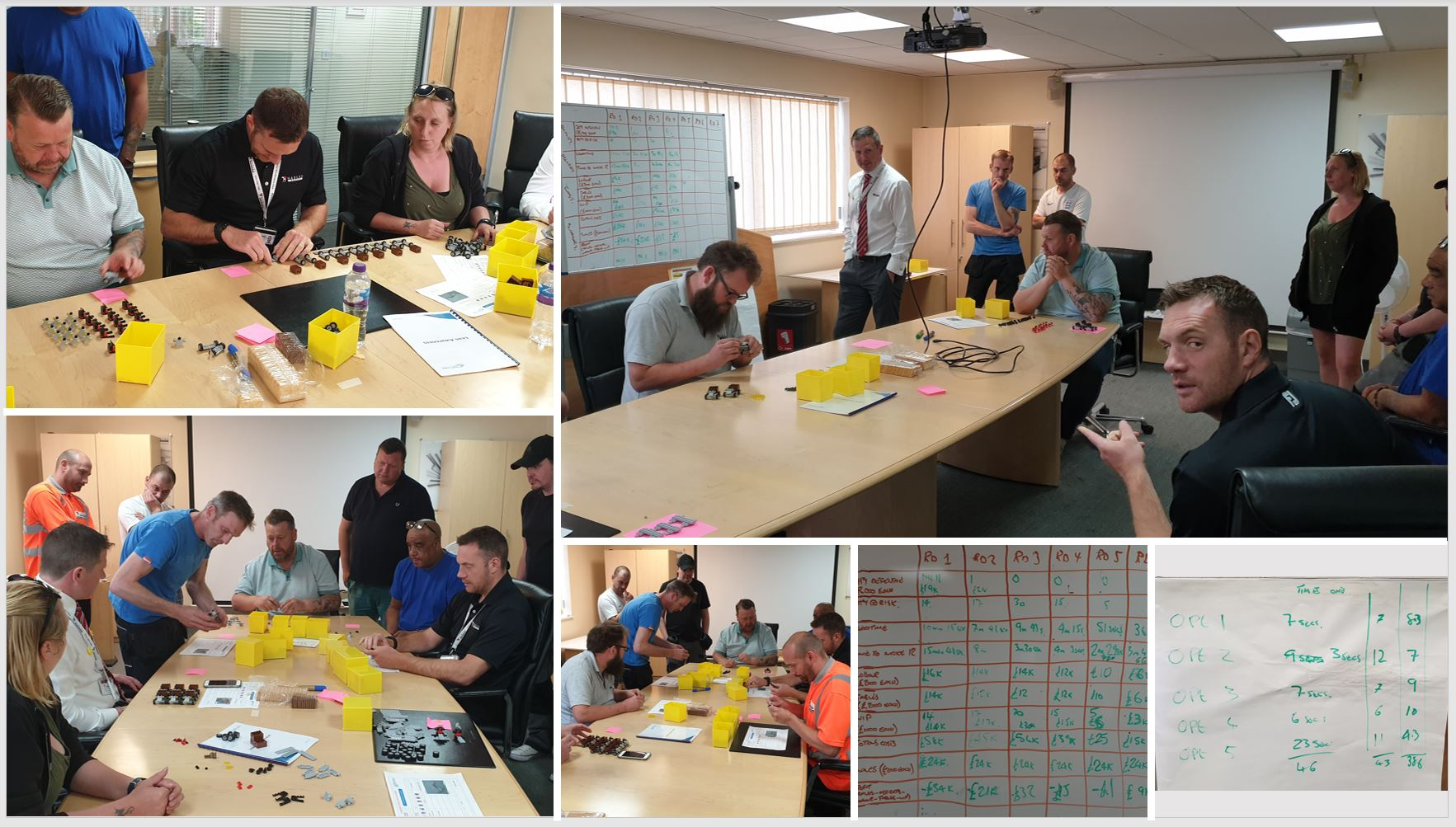 Hadley Lean Coaching - Day 2 TCMUK Limited